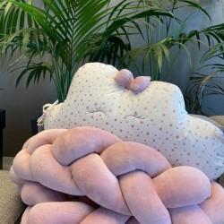Διακοσμητικό Mαξιλάρι προσκέφαλο Pink Cloud