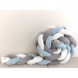 Γκρι - Γαλάζιο - Λευκό