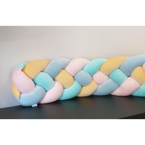 Velvet Pastel Braid Bumpers