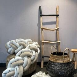 Προστατευτική πάντα πλεξούδα twin Knitting Sandy leaves