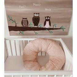 Breastfeeding pillow  Glitter Πουά