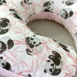 Μαξιλάρι θηλασμού Baby pink Panda