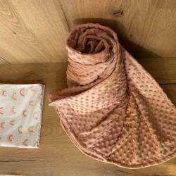 Old Rose Κουβέρτα Χειμωνιάτικη κρεβατιού