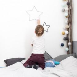 Stars Wire Decoration