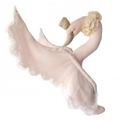Διακοσμητικός κύκνος powder pink Lovemedecoration