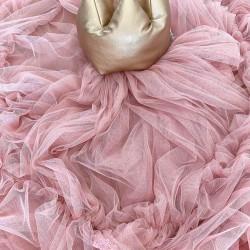 Κουνουπιέρα Τούλινη Old roze tulle