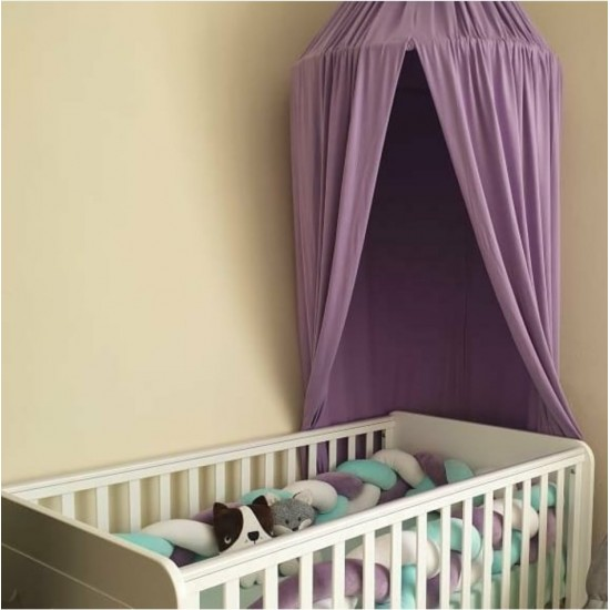 Bed Canopy Purple