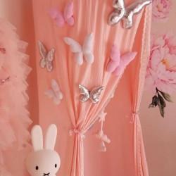 Κουνουπιέρα Bed Canopy Pink