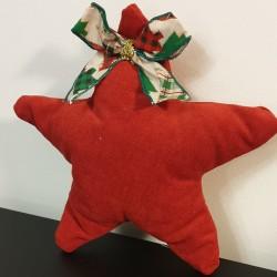 Χριστουγεννιάτικο Αστέρι με κεντημένο όνομα