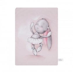 Κουβερτούλα αγκαλιάς Bamboo swaddle 70x100 pink
