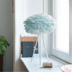Φωτιστικό Πούπουλο Γαλάζιο Παστέλ