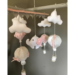 Air Hot Ballon Pinky