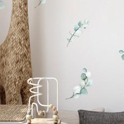 Αυτοκόλλητο τοίχου Leaves