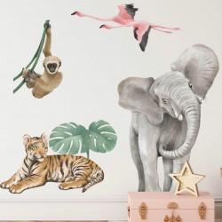 Safari Collection Αυτοκόλλητη σύνθεση