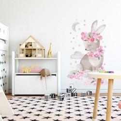 Sticker Pink Rabbit