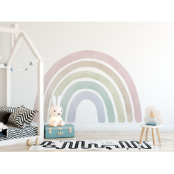 Jumbo Rainbow Fabric Decal