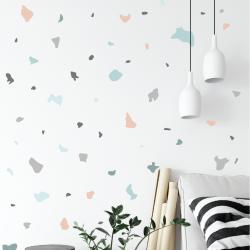 Pastel Terrazzo Stickers